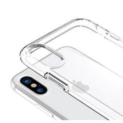 아이폰 전기종 클리어 플랫 투명 하드 범퍼 케이스