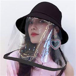 탈부착 안면보호 투명마스크 모자/코로나모자