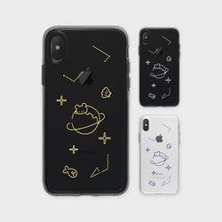유니버스수달 J5 투명 케이스 핸드폰 헨드폰 G6폰
