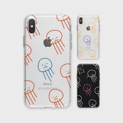우울해파리 G4 투명 케이스 V20 아이폰7정품 G4