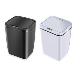 스마트 자동센서 모션감지 사각 휴지통 쓰레기통 12L