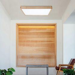 LED 우드 큐브 거실등 55W [직부형]
