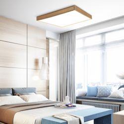 LED 우드 레이 거실등 120W [직부형]
