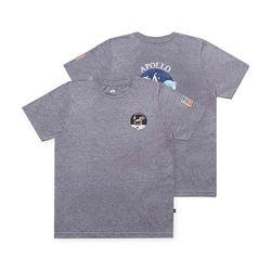 알파인더스트리 아폴로 반팔 티셔츠 CHARCOAL