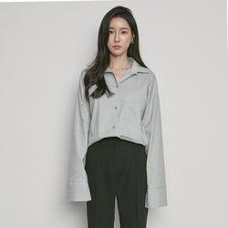 W3337 TS-box poket shirts mint