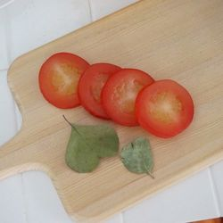 모형 토마토조각4P SET