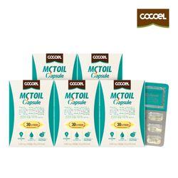 코코엘 MCT오일캡슐(1000mg x30캡슐) 5통