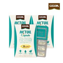 코코엘 MCT오일캡슐(1000mg x30캡슐) 3통