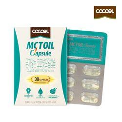 코코엘 MCT오일캡슐(1000mg x30캡슐) 1통