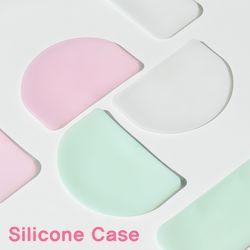 마스크센스 실리콘 마스크 보관케이스 휴대용 (핑크 민트)