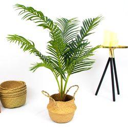 인테리어 데코 나무 조화 화분 (팜트리)