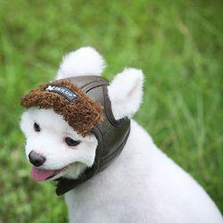 강아지 겨울모자 공군모자 군밤모자 파일럿모자 귀도리