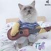 강아지옷 고양이옷 코스프레 기타리스트 코스튬 M L XL 사이즈