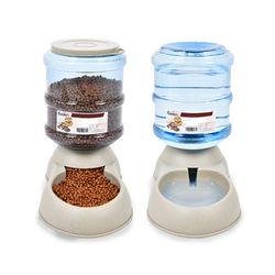 강아지 고양이 반자동 급수기 급식기 물그릇 밥그릇 물통