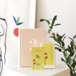 벚꽃에디션 나태주세트 (북퍼퓸+메탈스티커+다이어리)