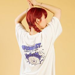 NEONDUST 20SP Dusty T-Shirt - WHITE