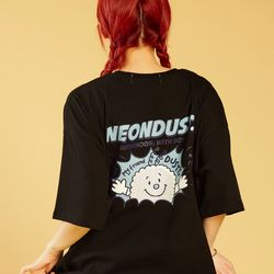 NEONDUST 20SP Dusty T-Shirt - BLACK