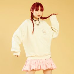 NEONDUST 20SP Sweat Shirt - IVORY