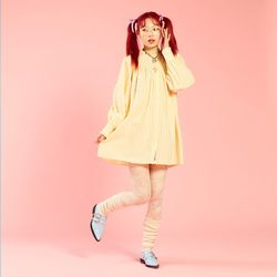 NEONMOON 20SP Frill Onepiece - YELLOW