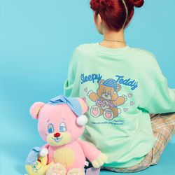 NEONMOON 20SP Teddy Sweat Shirt - MINT