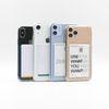 카드 포켓 에어쿠션 투명 폰케이스(아이폰 갤럭시 전기종)