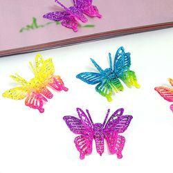 홀로그램 나비 장식 (10개 1세트)