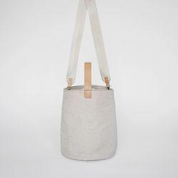 new bell tote bag (natural)