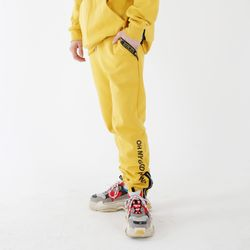 God Thanks Zipup Pants Yellow