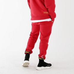 EASY String Pants Red