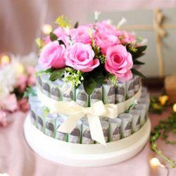 DIY 용돈 케이크 2단 - 대