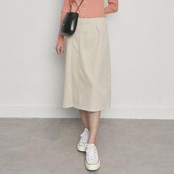 W3327 WJ-hb basic skirt cream