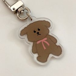 Latte bear 키링