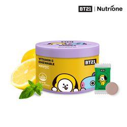 BT21 비타민C 츄어블 1500mg x 60정 레몬맛