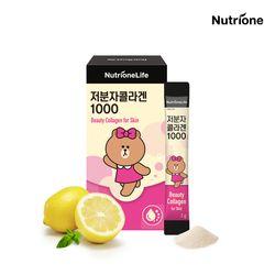 라인프렌즈 저분자콜라겐 1000 14포 레몬맛