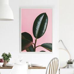 스위트몬스테라 식물 액자 A3 포스터+알루미늄액자
