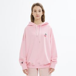 SMALL LOGO HOODIE-PINK