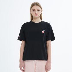 SLIM BASIC T-SHIRT-BLACK