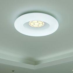 축구 국산 LED 방등 조명 50W