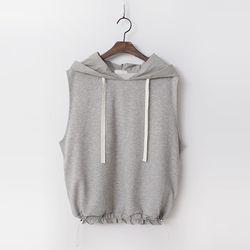 Hoodie Sweatshirt Vest