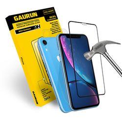 아이폰Xr 2.5D 강화유리 전면1매 + 후면보호필름1매