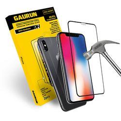 아이폰X 2.5D 강화유리 전면1매 + 후면보호필름1매