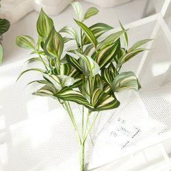7대잎부쉬 6종모음 녹색 그린 식물 조화 인테리어 FAIBFT