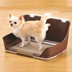 수컷용 강아지 벽화장실 본비 중소영견 벽토일렛