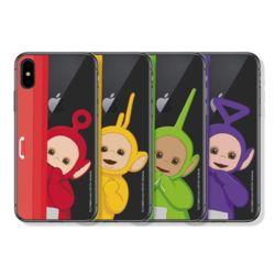 아이폰11 Pro Max XR XS 텔레토비 까꿍 클리어 케이스