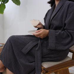 송월 40수 호텔용 샤워가운 목욕가운 1벌