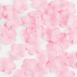 소복소복 쌓인 연핑크 꽃잎