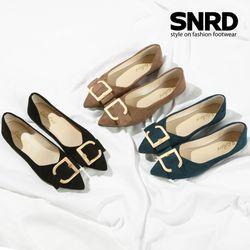 [SNRD]여성구두 신발 여성단화 플랫슈즈 레브EL-T102F