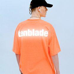 로고 리플렉티브 반팔 티셔츠 버전2-네온 오렌지