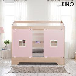 슈에뜨 하우스 타입 어린이 침대 C형(플래티넘 매트리스 포함)
