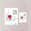 항균탈취 스티커 붙여봄 - 오기사 01 창문